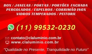 CL Alumínio Esquadrias de Alumínio